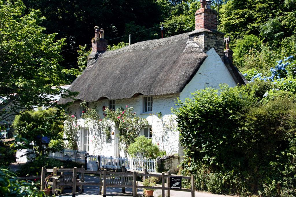 Helford Dörfer Cornwall