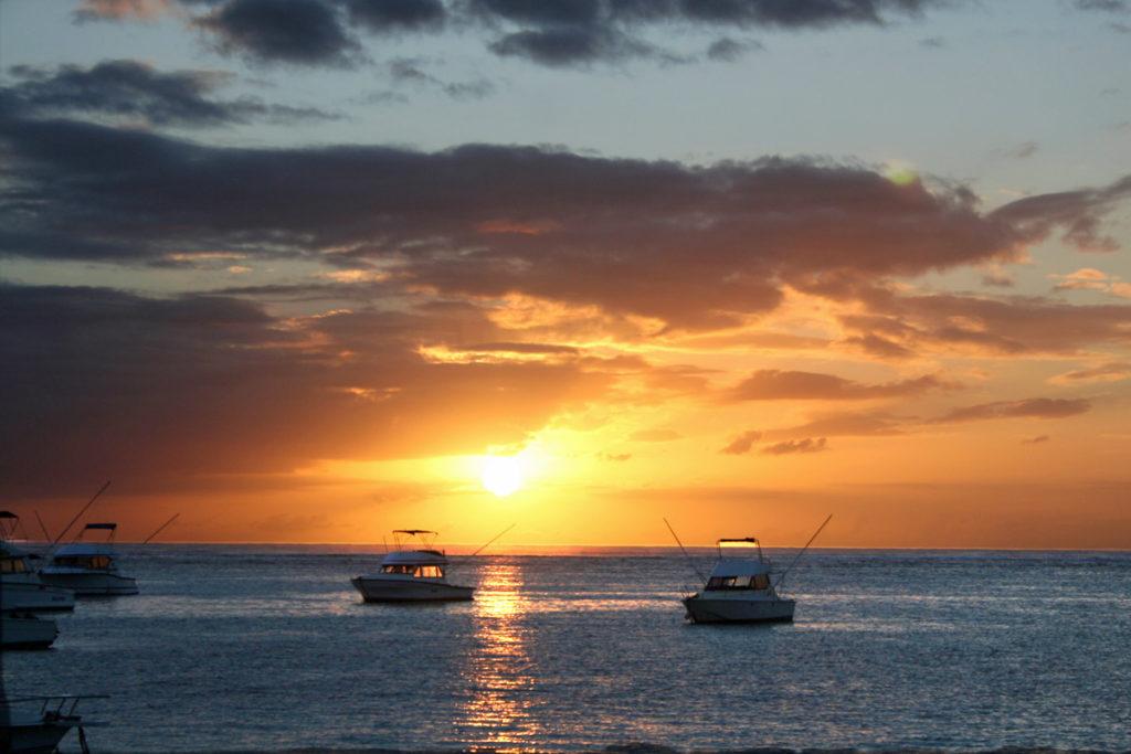 Sonnenuntergang Le Morne