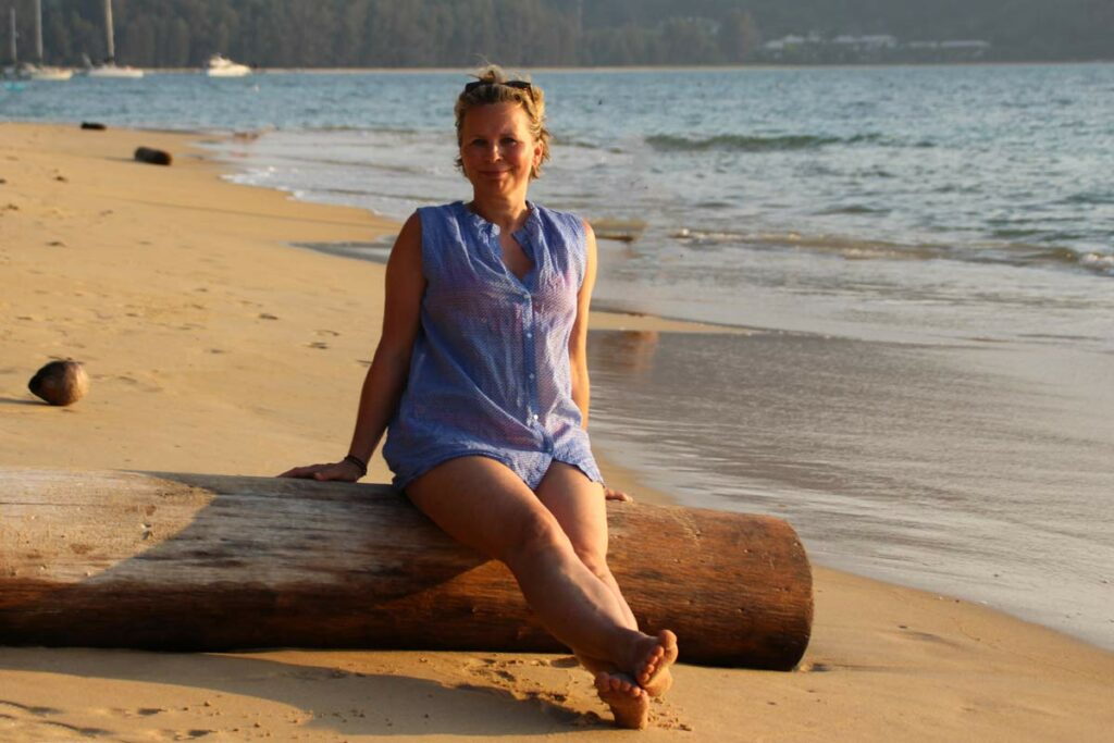 Christiane am Meer